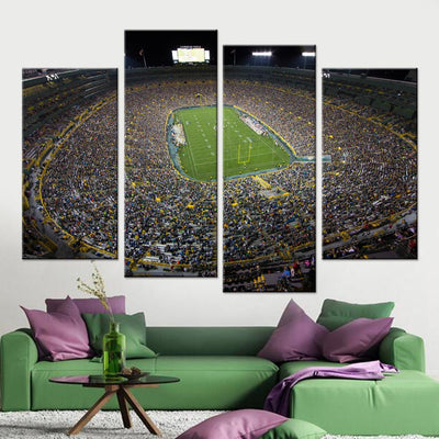 Green Bay Packers Stadium Canvas Set