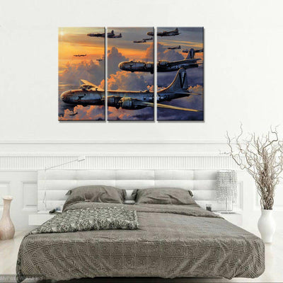 Boeing B-29 Superfortress Canvas Set - Canvasist