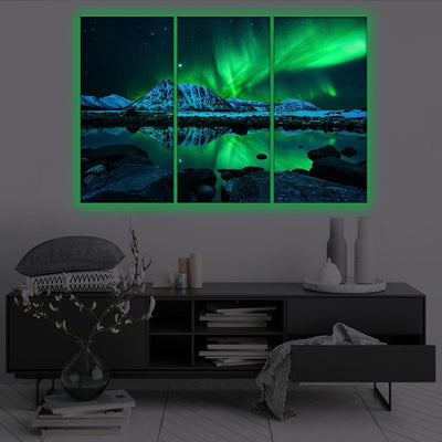 Aurora Sky LED Canvas Set - Canvasist