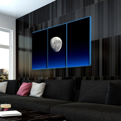 Moonlight LED Canvas Set - Canvasist