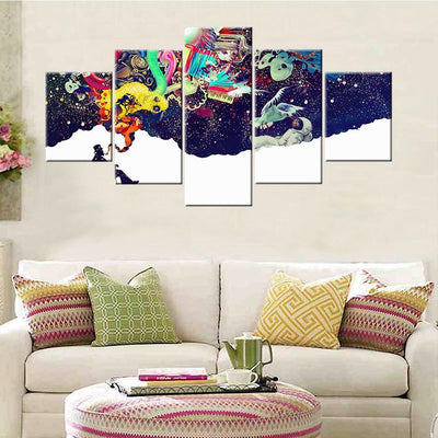 Higher thoughts Canvas Set