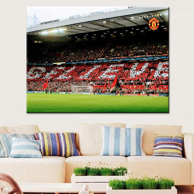 Manchester United  Stadium Canvas Set - Canvasist