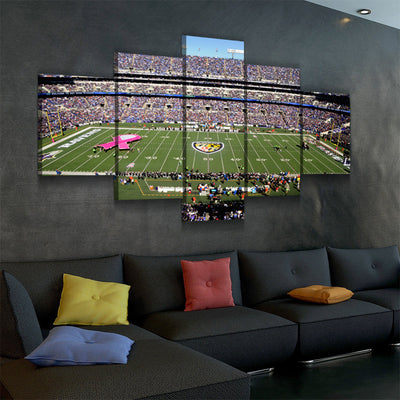 The Ravens Stadium (2) Canvas Set - Canvasist