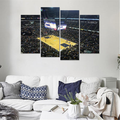 Bankers Life Fieldhouse 2 Indiana Pacers Canvas Set - Canvasist
