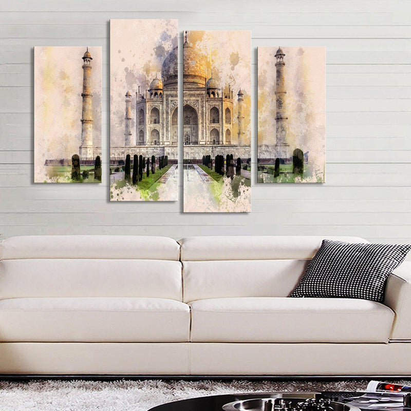 Taj Mahal - Canvasist