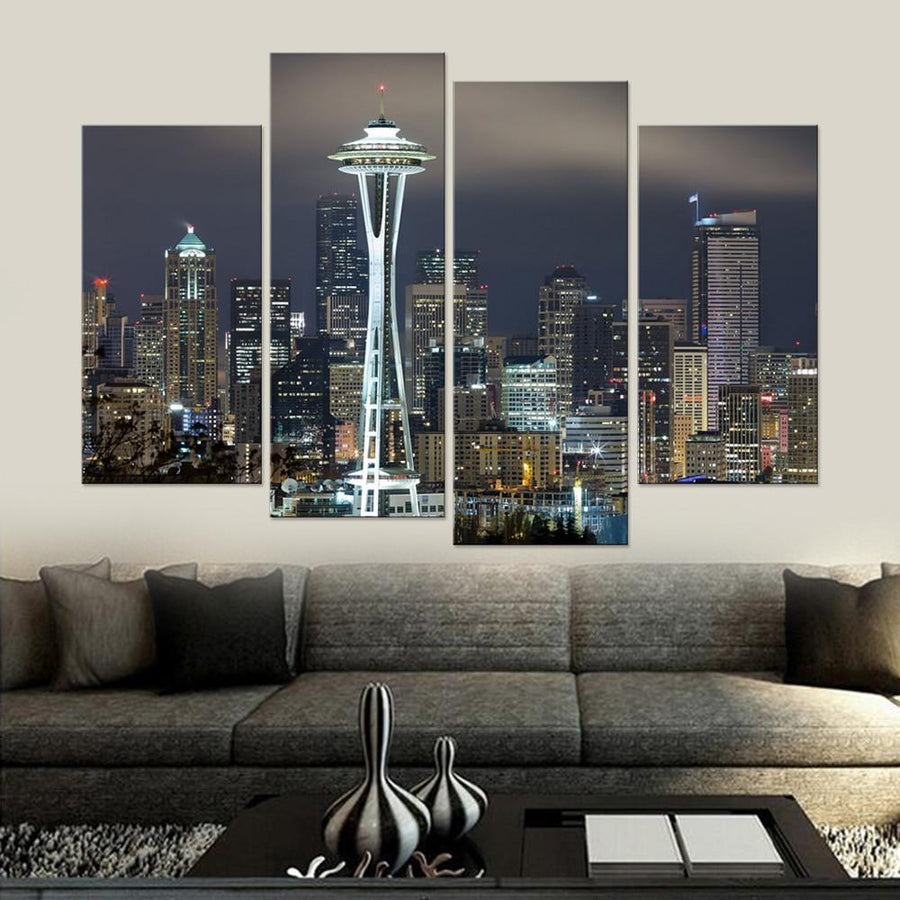 Seattle Canvas Set