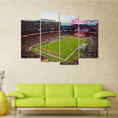 Field of Jeans Canvas Set - Canvasist
