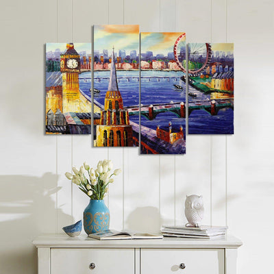 Piccadilly Market Canvas Set