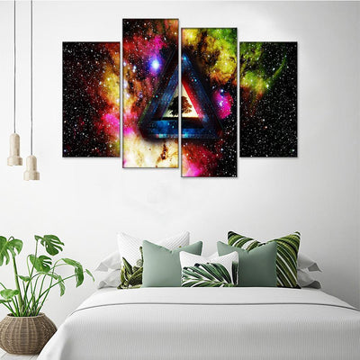 Life Triangle Canvas Set - Canvasist