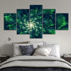 Viridescent Spiral Canvas Set - Canvasist