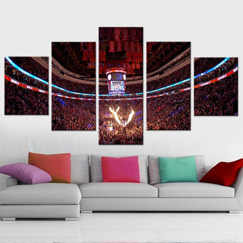 Philadelphia 76ers Stadium Canvas set