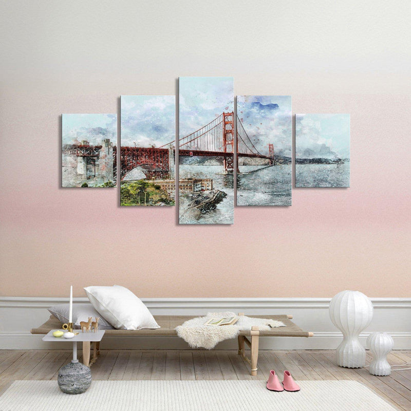 San Francisco Golden Gate Bridge - Canvasist