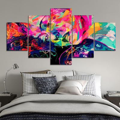 Stained Melancholy Canvas Set - Canvasist