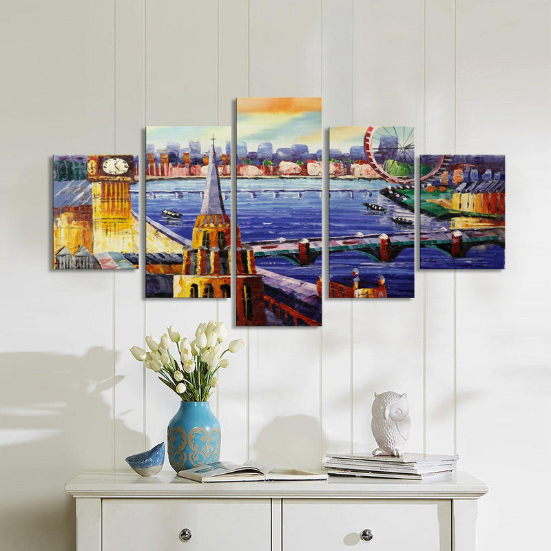 Piccadilly Market Canvas Set - Canvasist
