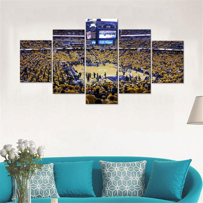 Bankers Life Fieldhouse Indiana Pacers Canvas Set - Canvasist