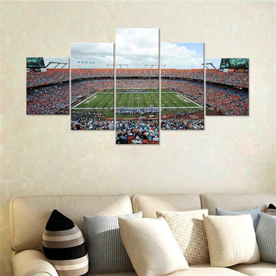 Miami Pound Machine Stadium Canvas Set - Canvasist