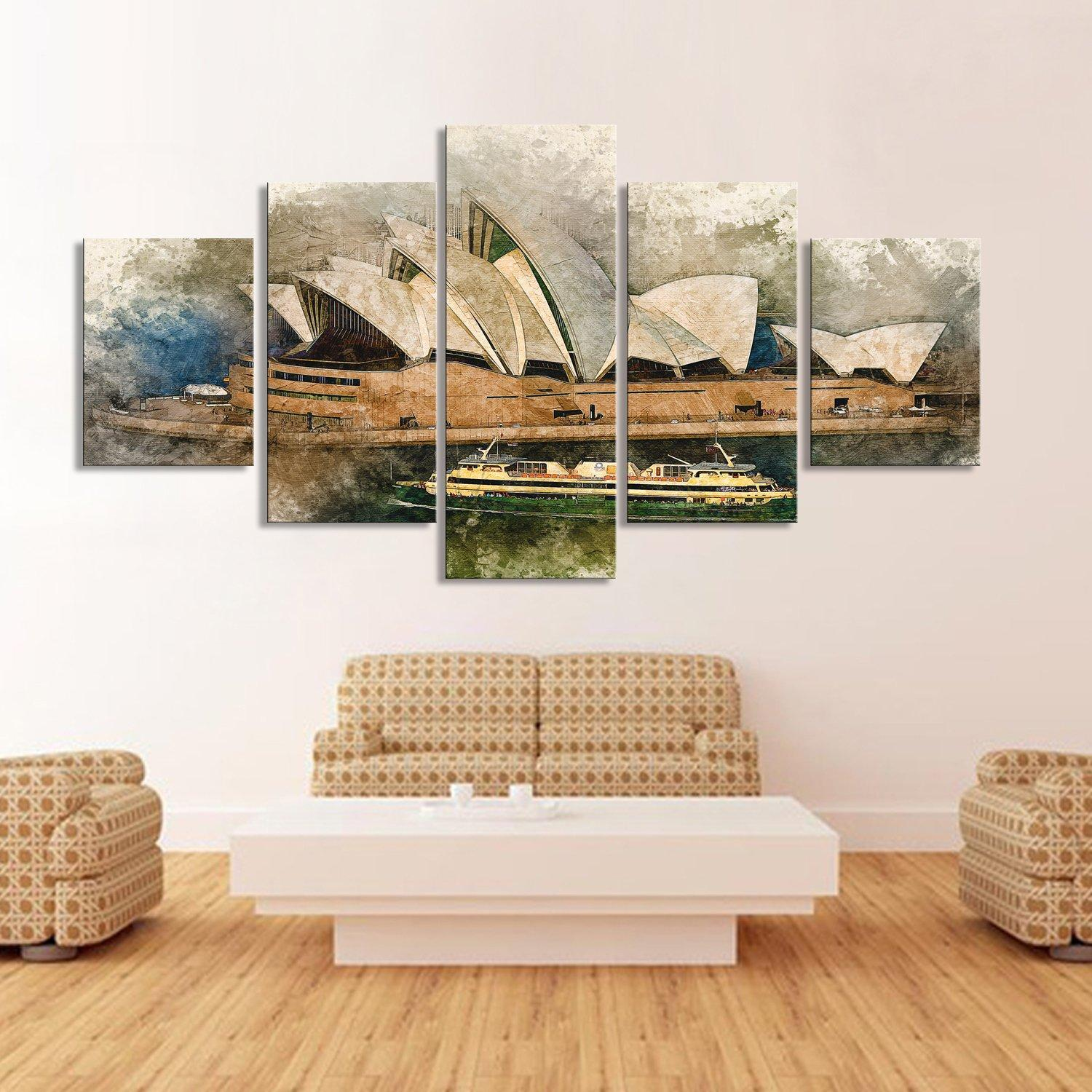 Sydney Opera House Canvas Set - Canvasist