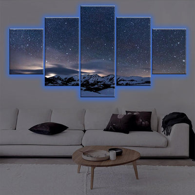 Starcast Night LED Canvas Set - Canvasist