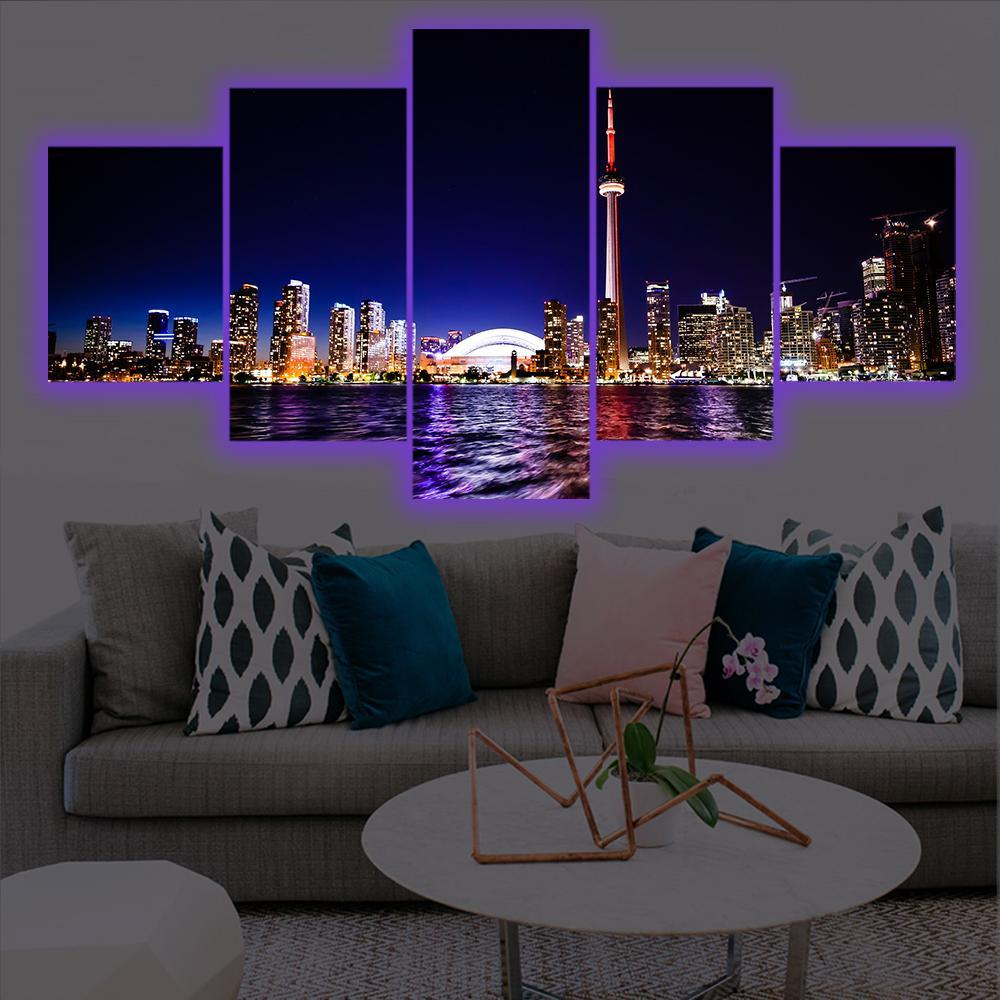Toronto LED Canvas Set - Canvasist