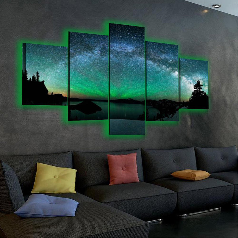 Spectacular Aurora Sky LED Canvas Set - Canvasist