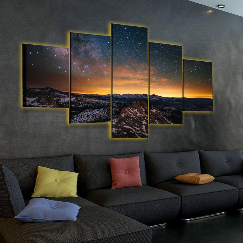 Yosemite Park LED Canvas - Canvasist