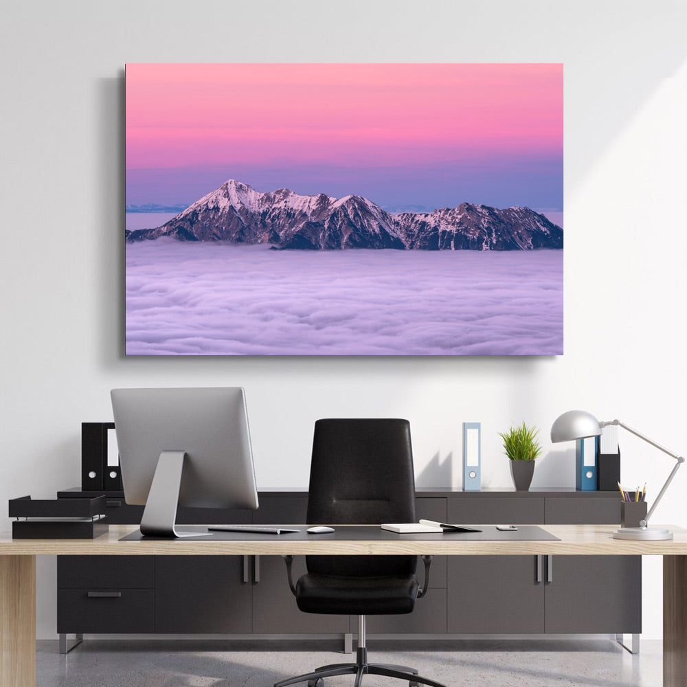 Beautiful Cold Dawn Canvas Set - Canvasist