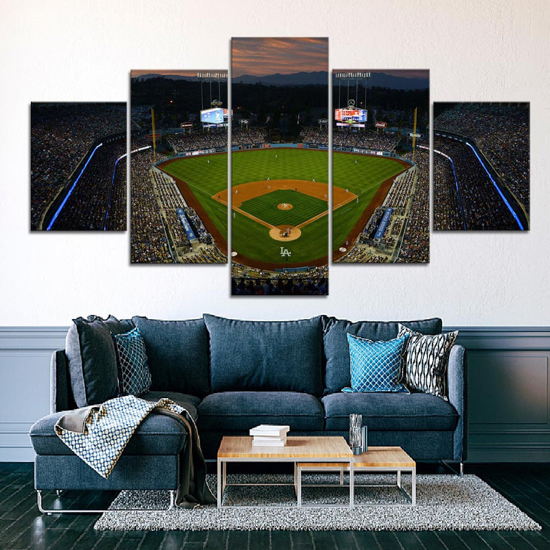 The Blue Crew Stadium Canvas Set