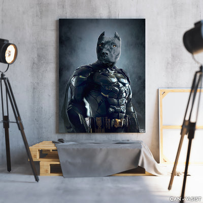 Bat-pet Pet Canvas - Canvasist