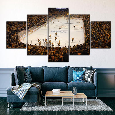 Nashville Predators Stadium Canvas Set - Canvasist