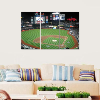 Citi Field New York Mets Canvas Set - Canvasist