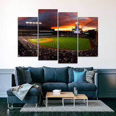 The Rocks Stadium 2 Canvas Set - Canvasist