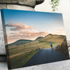 Cycling in the Mountains Canvas Set - Canvasist