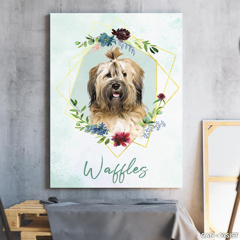 Name Tag Background - Pet Canvas