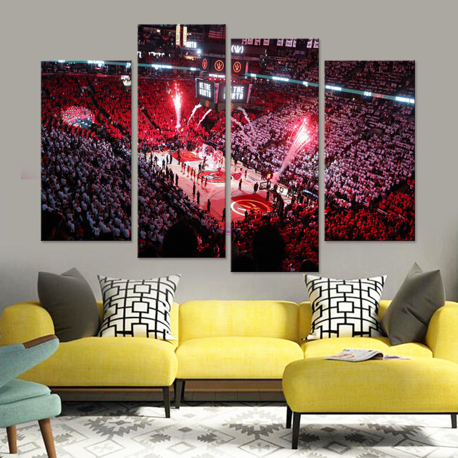 Toronto Raptors Stadium Canvas Set