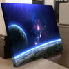 Earth View in Space Canvas Set - Canvasist