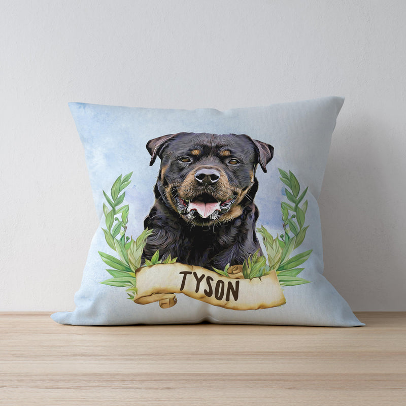 Forest Mist Custom Pet Cushion Cover
