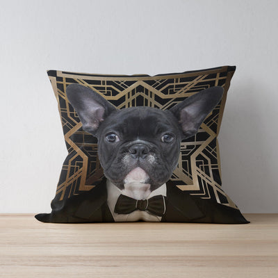 Great Catsby Pet Cushion Cover