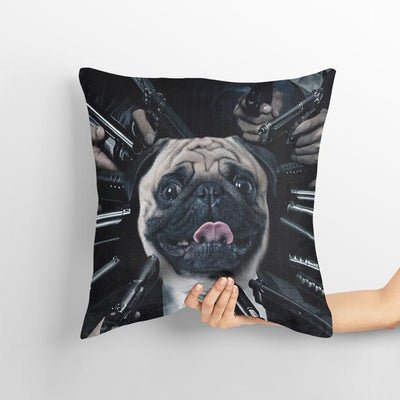 John Wick Pet Cushion Cover