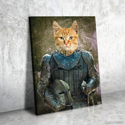 Pet In Armor Pet Canvas Set - Canvasist