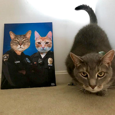 Law Keepers Pet Canvas