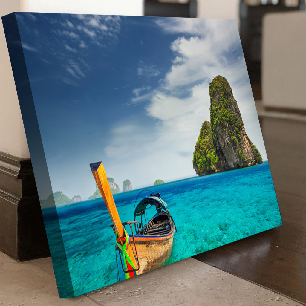 Railay Beach Thailand Canvas Set - Canvasist