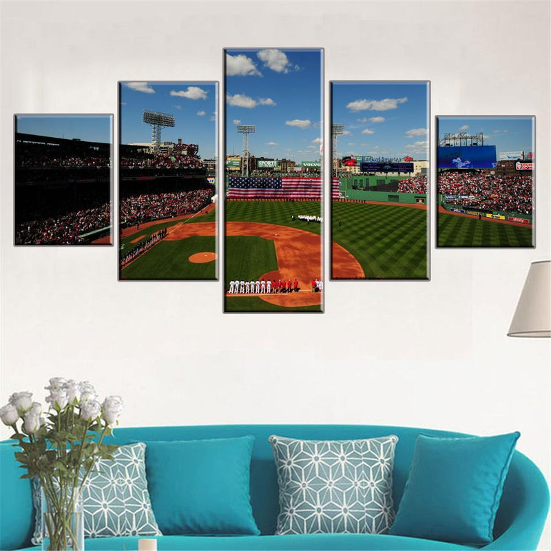 Fenway Park Boston Red Sox Canvas Set - Canvasist