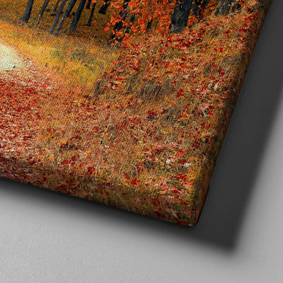 Red Maple Tree Canvas Set