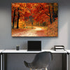 Red Maple Tree Canvas Set - Canvasist