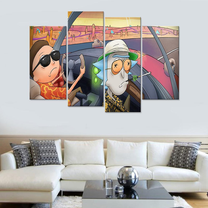 Sanchez and Smith On Drugs Canvas Set - Canvasist