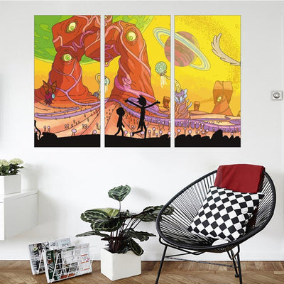 World Adventures Canvas Set - Canvasist