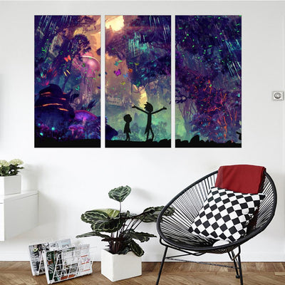 Shroom Adventures (2) Canvas Set - Canvasist