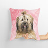 Rose Pink Custom Pet Cushion Cover