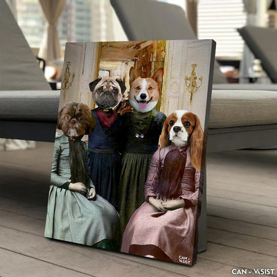 Best Furr-iends Pet Canvas - Canvasist