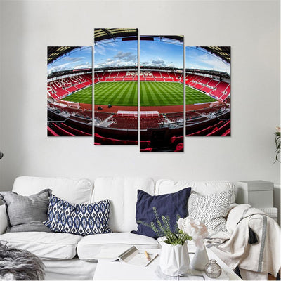 The Potters Stadium Canvas Set